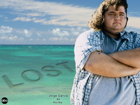 Jorge Garcia ( Hurley - Collection 13 of Lost Pictures ) 1