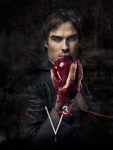 Nina Dobrev , Paul Wesley and Ian Somerhalder – The Vampire Diaries (3)