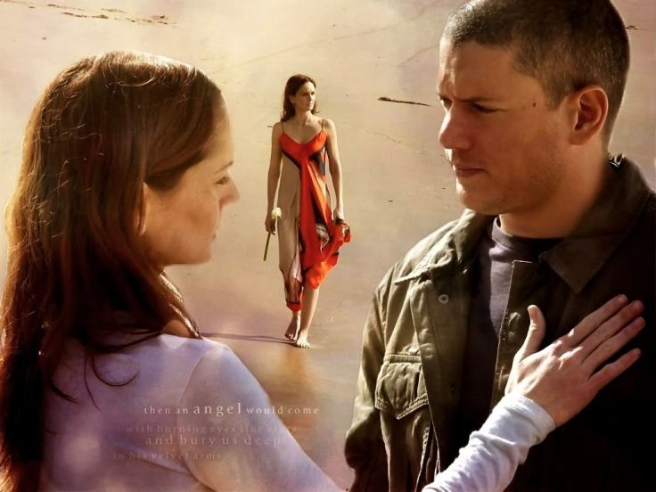Prison Break Cast : Sarah Wayne Callies and Wentworth Miller